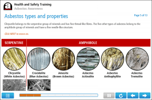 Asbestos Awareness Online Training Screenshot 1