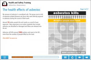 Asbestos Awareness Online Training Screenshot 2