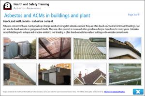 Asbestos Awareness Online Training Screenshot 3