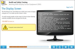 Display Screen Equipment Online Training Screenshot 2