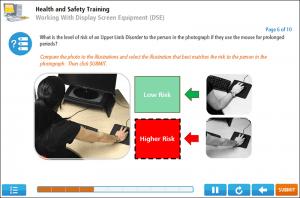 Display Screen Equipment Online Training Screenshot 3