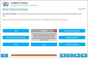 Equality Training Screenshot 2