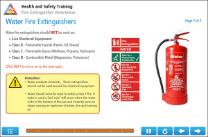 Fire Extinguisher Online Training