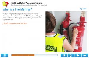 Fire Marshal Training Online Training Screenshot 1