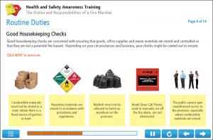 Fire Marshal Training Online Training Screenshot 2