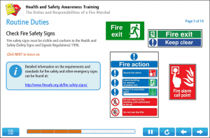 Fire Marshal Training Online Training Screenshot 3