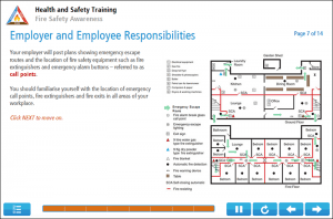 Fire Safety for Adult Residential Care Online Training Screenshot 2