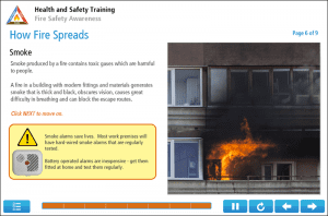 Fire Safety for Adult Residential Care Online Training Screenshot 3
