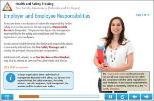 Fire Safety Awareness for Schools Online Training Screenshot 2
