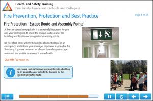 Fire Safety Awareness for Schools Online Training Screenshot 3
