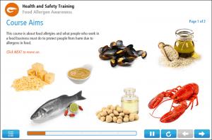 Food Allergen Awareness Online Training Screenshot 1