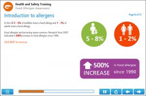 Food Allergen Awareness Online Training Screenshot 2