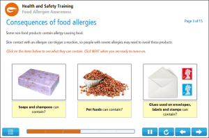 Food Allergen Awareness Online Training Screenshot 3
