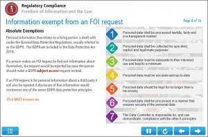 Freedom Of Information Certificate Screenshot 2