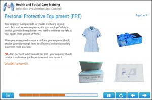 Infection Control Online Training Screenshot 1
