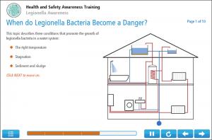 Legionella Awareness Online Training Screenshot 3