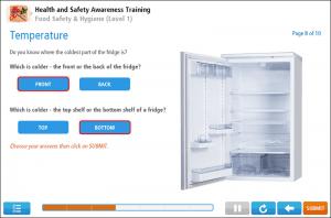 Food Hygiene (Level 1) Online Training Screenshot 2
