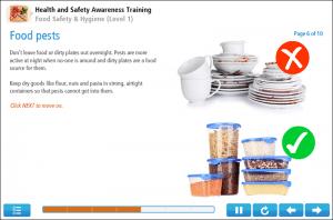 Food Hygiene (Level 1) Online Training Screenshot 1