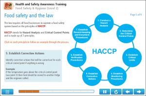 Food Hygiene (Level 2) Online Training Screenshot 1