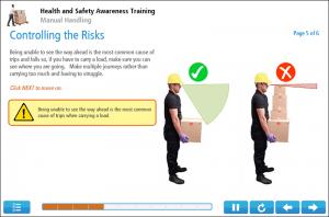 Manual Handling Online Training Screenshot 2