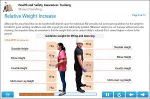 Manual Handling Online Training Screenshot 3