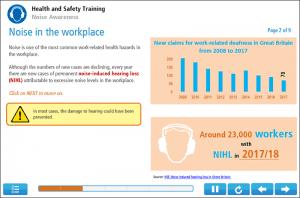 Noise Awareness Online Training Screenshot 1