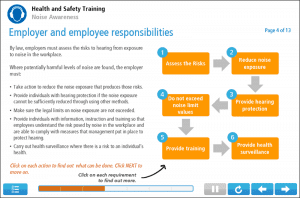 Noise Awareness Online Training Screenshot 2