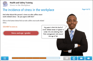 Stress in the Workplace Online Training Screenshot 2