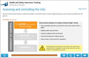Working at Height Online Training Screenshot 1