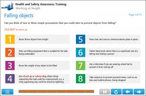 Working at Height Online Training Screenshot 2