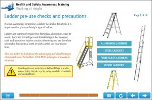 Working at Height Online Training Screenshot 3