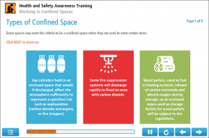 Working in Confined Spaces Online Training Screenshot 1