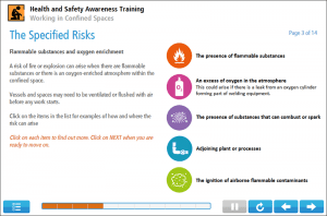 Working in Confined Spaces Online Training Screenshot 2